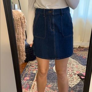 Old Navy Jean Skirt. Size 2.